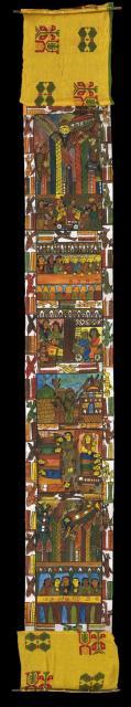 Cantastoria Scrolls by Women of Naya - 9/11: Cantastoria Scroll by Women of Naya - 9/11