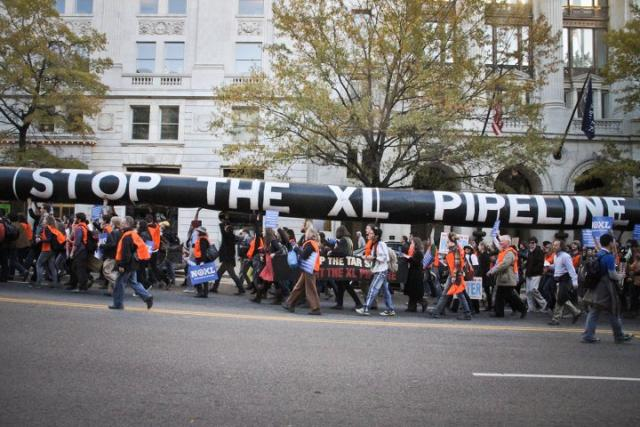 Tar Sands Protest at White House, November 6, 2011