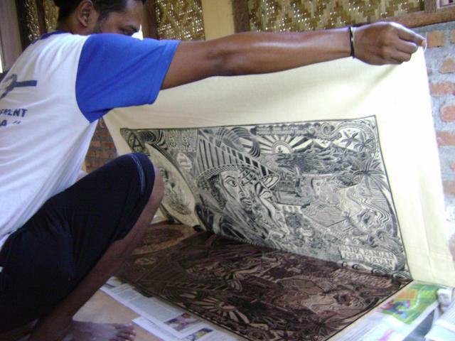 Taring Padi Woodcut Posters