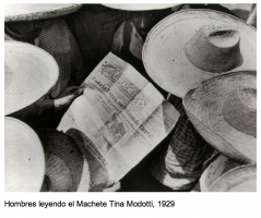 Photo by Tina Modotti 1929 of the Newspaper, El Machete