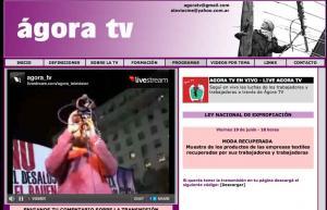 agora tv in Argentina
