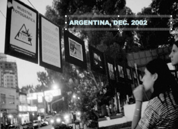 Indymedia/Argentina Arde Exhibition