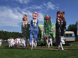 Bread and Puppet Theater in Glover, Vermont