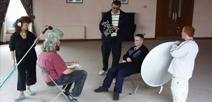 Cork Community Television Training Session, Ireland