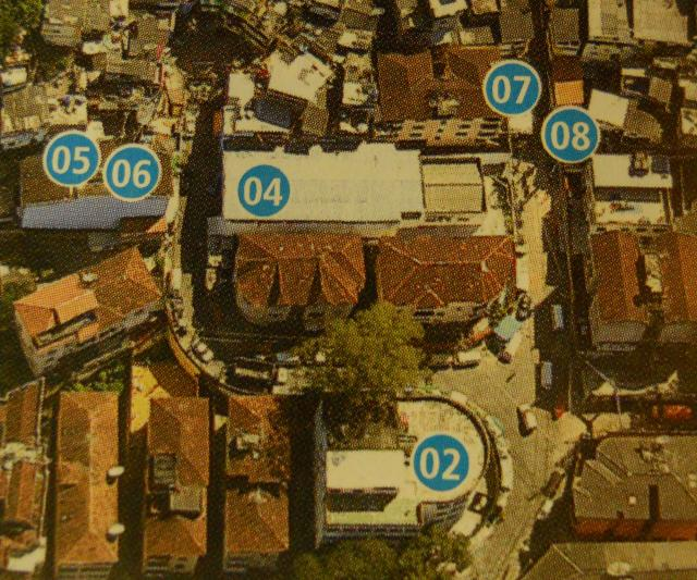 """Tourist"" Map of Santa Marta, favela with their own ""tours"": The community maps areas that are important."