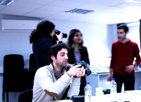 Photo Workshop at Cyprus Conmunity Media Centre