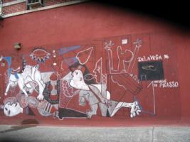 East Harlem Mural by De La Vega