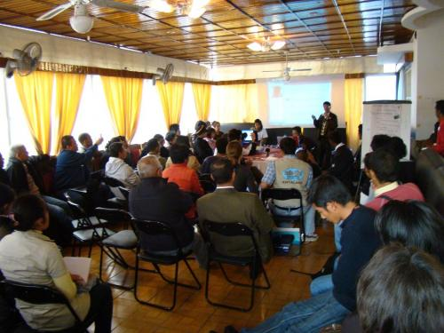 Global Voices - Bar camp on reporting in times of crisis (Antananarivo, Madagascar)