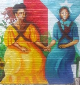 Soldaderas Mural in East Harlem