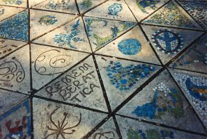 Patchwork Plaza Remembers Attica