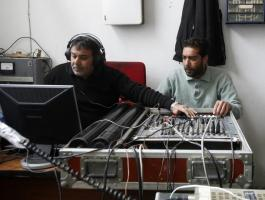 Radio Crew in Liberated Zone in Libya