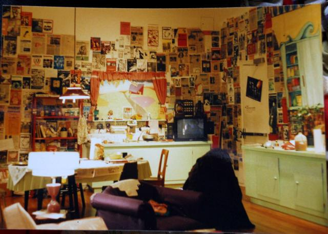 The Paper Tiger Kitchen in the Dream House at the Wexner Museum in Columbus Ohio