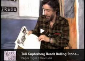 Tuli Kupferberg Reads Rolling Stone